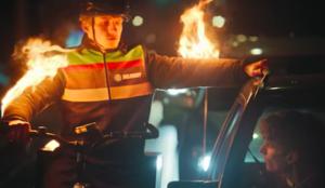 Burger King muestra que sus repartidores están, literalmente, en llamas