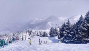 Aramón se prepara para fin de año con 30 centímetros de nieve nueva