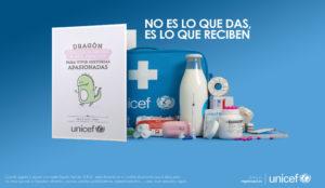 J. Walter Thompson regalo azul de Unicef