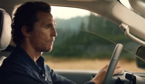 Matthew McConaughey vuelve a protagonizar la nueva campaña de Lincoln Navigator