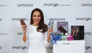Samsung y Paula Echevarría presentan Galaxy S8+ SMARTgirl Limited Edition