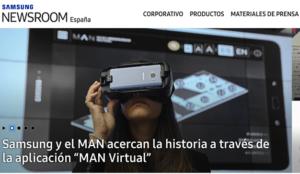 Samsung presenta su nueva sala de prensa Samsung Newsroom España