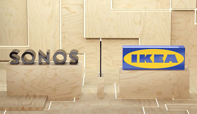 IKEA colabora con Sonos para crear una atmósfera con sonidos en el hogar