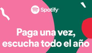 Spotify lanza una nueva opción de suscripción anual