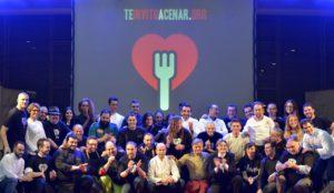 Más de 20 reconocidos chefs se involucran en la cena solidaria de Navidad que Te invito a cenar organiza para 500 personas