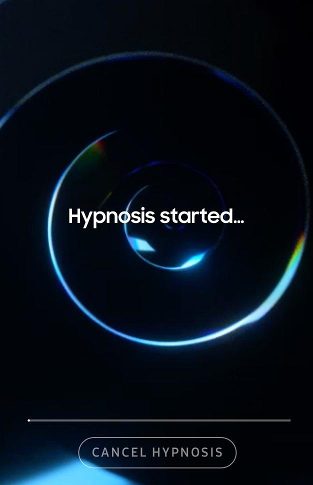 Samsung utiliza la hipnosis para acabar con los spoilers con Unspoil me