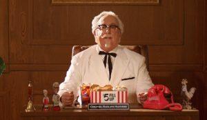 KFC elige deliberadamente a un actor poco conocido como el nuevo Coronel Sanders
