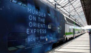 ¿Viajaría en un tren con un asesino a bordo? Esta campaña le propone un juego