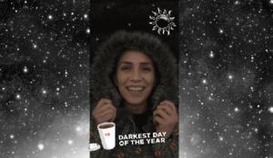 Dunkin' Donuts apuesta por los nuevos filtros de Snapchat para celebrar el solsticio de invierno