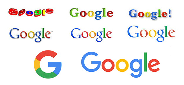 evolution google logo