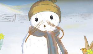 Esta campaña conciencia sobre el cambio climático con un muñeco de nieve
