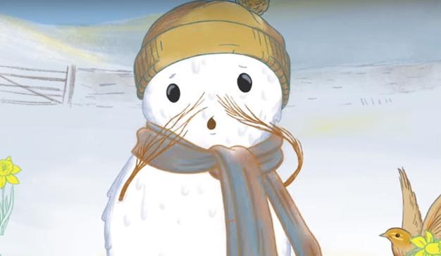 """Esta campaña conciencia sobre el cambio climático con un muñeco de nieve """"muy caliente"""""""