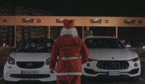 Sixt ayudará a Papá Noel a llegar a tiempo esta Navidad