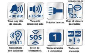 Recomendaciones para comprar Teléfonos y GPS para mayores