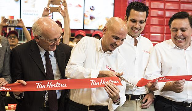 El primer restaurante Tim Hortons en España abre sus puertas en Madrid