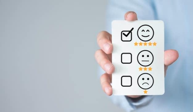 valoración de atención al cliente