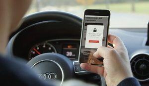 Audi quiere que deje el móvil a un lado mientras conduce