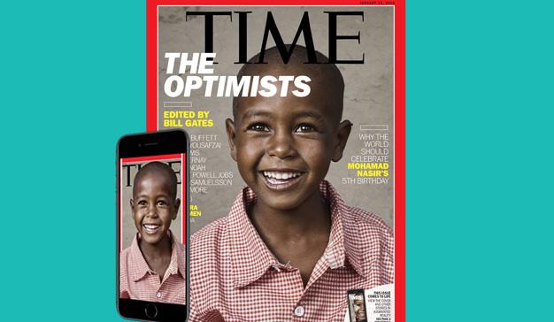 Time lanza su primer número con realidad aumentada
