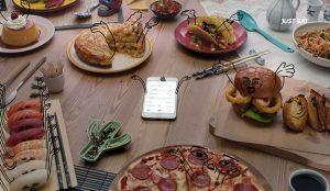 La comida cobra vida en la nueva campaña de Just Eat