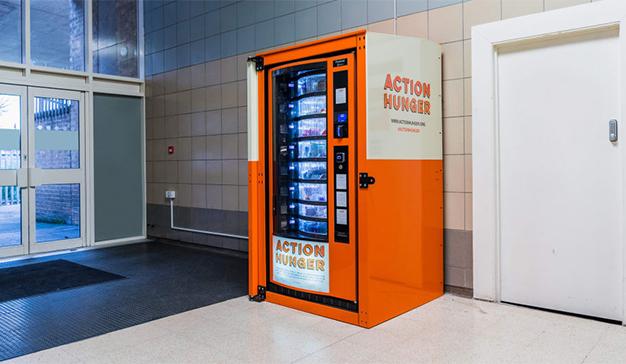 El vending, una solución efectiva para satisfacer las necesidades de las personas sin hogar