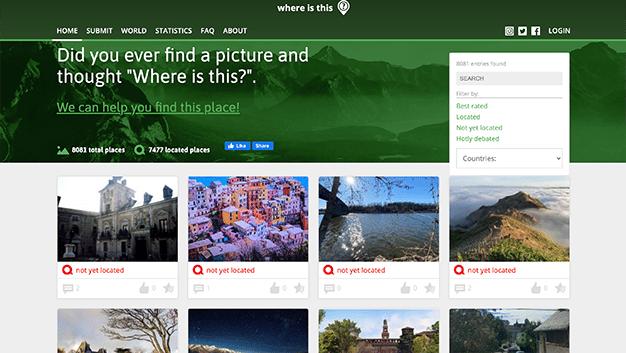 webs con fotos de lugares exoticos