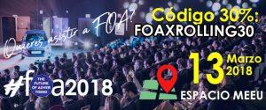 FOA 2018 llega renovado y más futurista que nunca