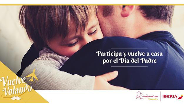 La Fundación Vuelve a Casa- El Almendro e Iberia regalarán descuentos para volver a casa