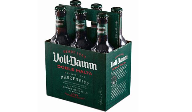 La nueva imagen de Voll-Damm pone en valor el carácter de la marca
