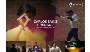 Carlos Sainz protagoniza la campaña de branded content de Renault