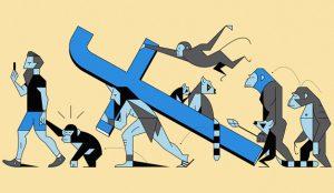 Facebook: más ingresos y más ganancias, pero menos tiempo invertido en su plataforma
