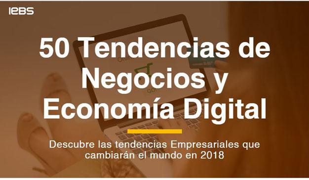 IEBS presenta un Informe con las 50 Tendencias Digitales más importantes