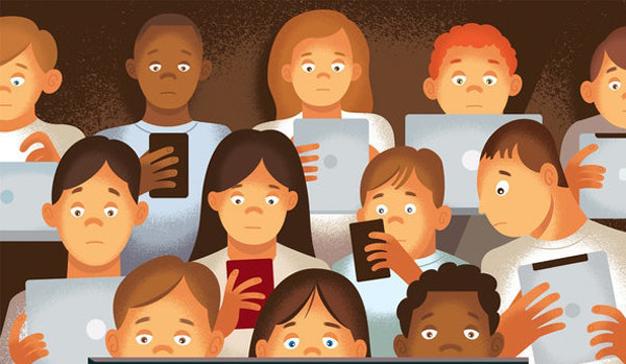 El móvil, responsable del 90% del tiempo de conexión a internet de los jóvenes españoles