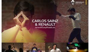 Carlos Sainz protagoniza la nueva campaña de Proximity para Renault