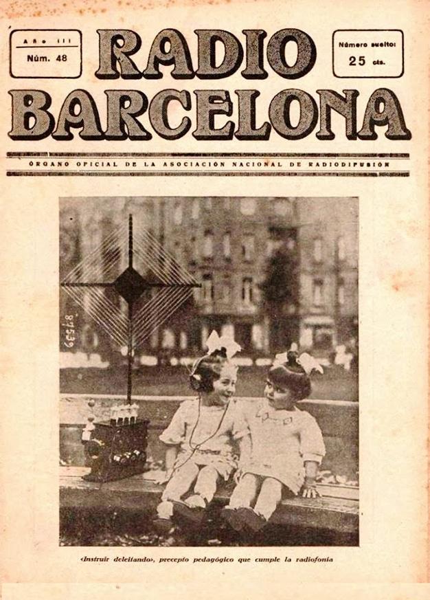 pancarta radio barcelona
