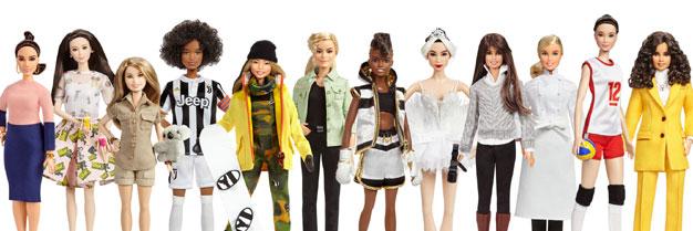 Barbie homenajea a 17 mujeres inspiradoras del pasado y de la actualidad