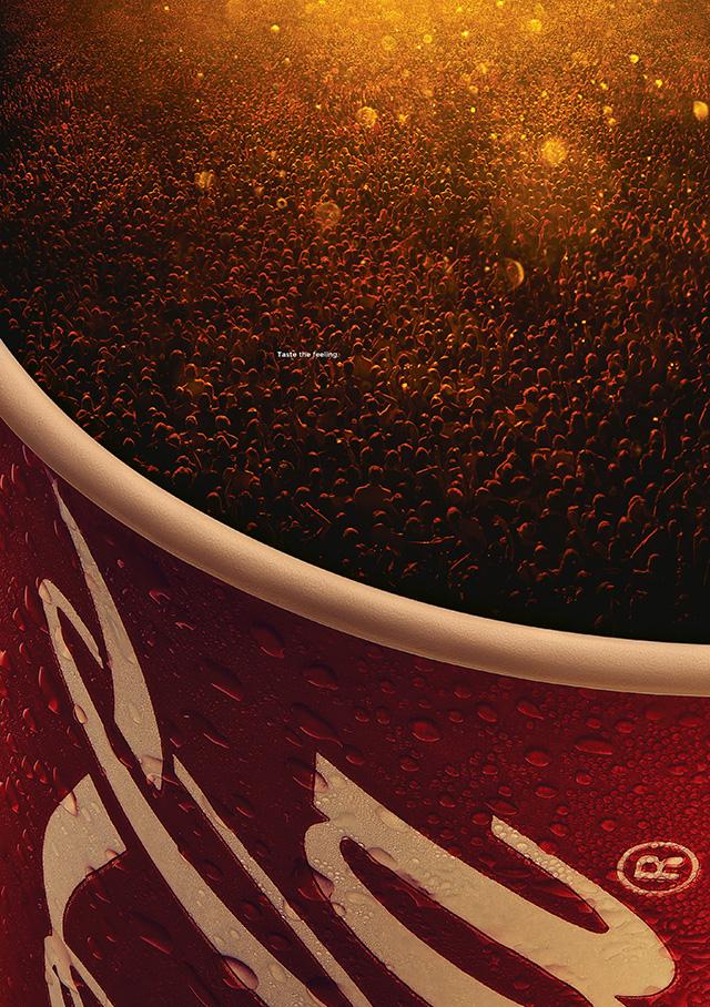 Coca-Cola celebra las experiencias colectivas en esta espectacular campaña exterior