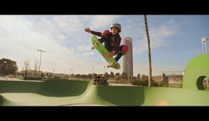 El joven skater David Parrilla protagoniza la nueva campaña de Cola Cao