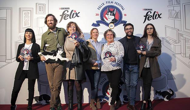 El I Felix Film Festival premia a los mejores vídeos domésticos gatunos