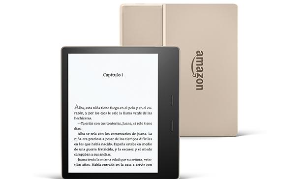 Amazon lanza una nueva versión de Kindle Oasis