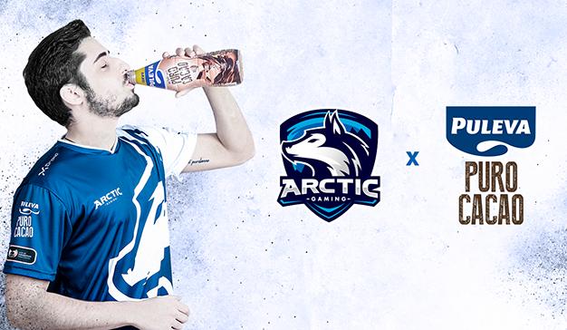 MKTG gestiona el acuerdo de patrocinio entre Puleva y el equipo de Esports Arctic Gaming
