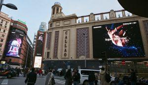 Samsung realiza una acción con Cheil para presentar el slow-motion del S9