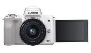 Canon presenta la avanzada  cámara sin espejo Canon EOS M50