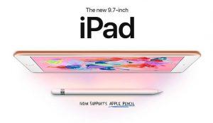 Apple presenta un iPad más barato compatible con Apple Pencil