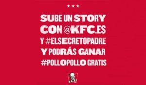 KFC celebra el Día del Padre con #ElSecretoPadre