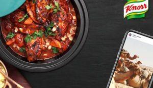 Knorr le ofrecerá la receta perfecta solo con mirar su cuenta de Instagram