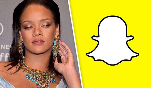 Caen las acciones de Snapchat después de que Rihanna cargara contra un anuncio que frivoliza con la violencia machista