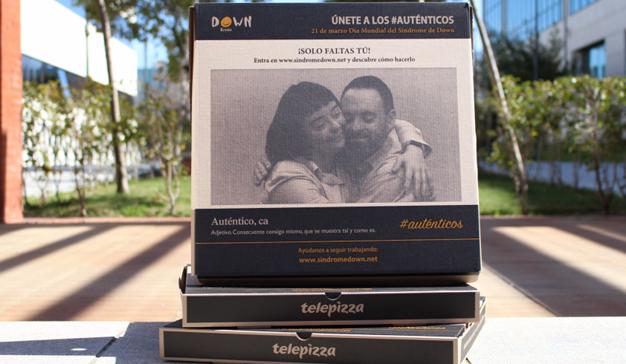 Telepizza visibiliza el Síndrome de Down con la imagen de la campaña