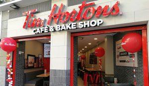 Tim Hortons cierra marzo abriendo su segunda cafetería este mes