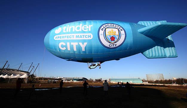 Tinder firma un acuerdo para conectar a los aficionados del Manchester City