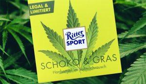 Ritter Sport lanza una chocolatina de cannabis y sus clientes se la